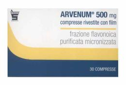 ARVENUM 500 MG VASOPROTETTORE E VENOTONICO - 30 COMPRESSE RIVESTITE