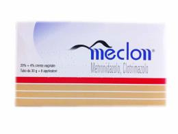 MECLON CREMA VAGINALE 20% + 4% 30 G CON 6 APPLICATORI
