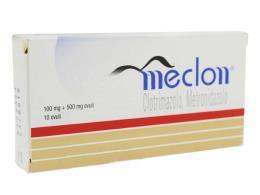 MECLON OVULI VAGINALI 100MG+500MG 10 OVULI