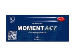 MOMENT ACT 400 MG 10 CAPSULE MOLLI
