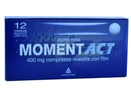 MOMENT ACT 400 MG 12 COMPRESSE RIVESTITE
