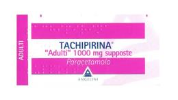 TACHIPIRINA ADULTI 1000 MG - 10 SUPPOSTE