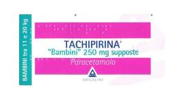 TACHIPIRINA BAMBINI 250 MG - 10 SUPPOSTE DA 250 MG